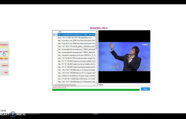 CONFIGURATOR URL TESTER – TEST IPTV STREAMS